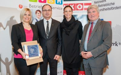 Betriebliche Gesundheitsförderung (BGF): Katzbeck als erstes Unternehmen zum zweiten Mal ausgezeichnet