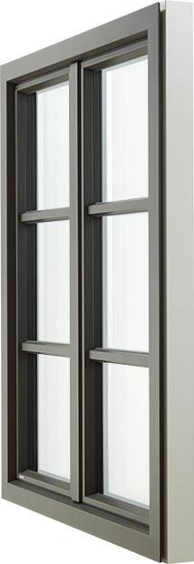 COMBINAfire HolzAlu Fenster