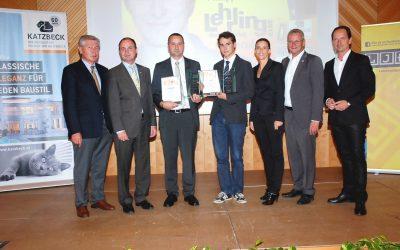Auszeichnung für Katzbeck-Lehrling