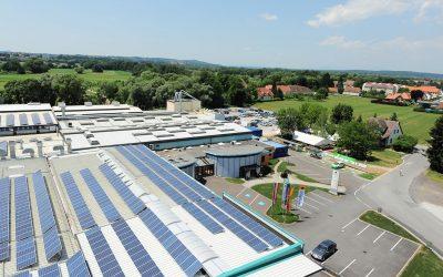 Katzbeck hat eine der größten Photovoltaik-Dachanlagen Österreichs