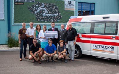Katzbeck startete Soforthilfe für Unwetter- und Hochwasseropfer