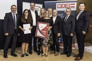 """""""Innovationspreis Burgenland 2017""""-Verleihung mit """"BVZ-Publikums-Sonderpreis"""" für Katzbeck"""