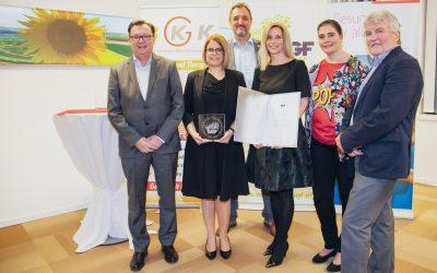 KATZBECK zum 3. Mal für betriebliche Gesundheitsförderung ausgezeichnet!