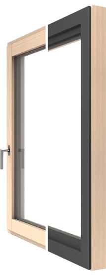 DESIGN Holz-Alu-Fenster