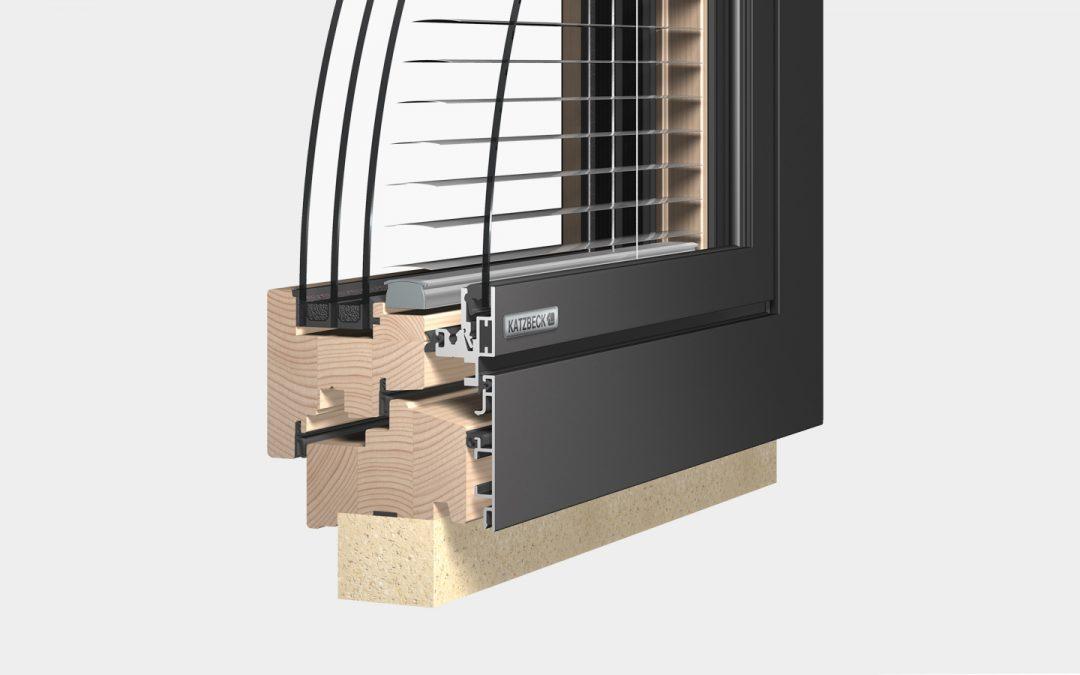 VERBUND iQ – Holz-Alu Verbundfenster