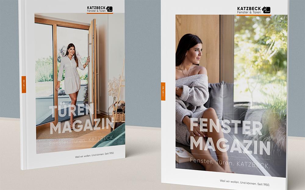Kataloge, Magazine, Folder, …